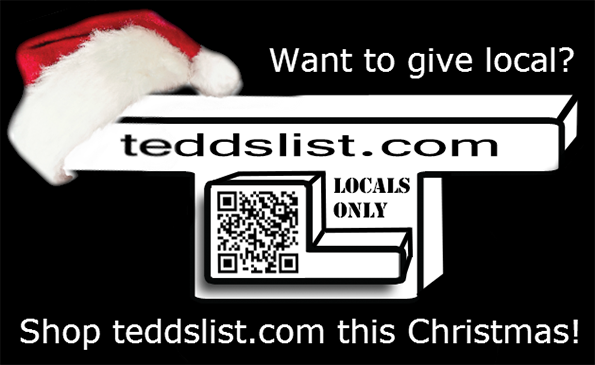 Want to give local? Shop teddslist.com this Christmas!