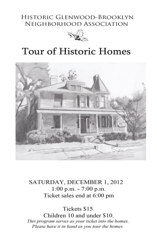 2012 Tour of Historic Homes cover