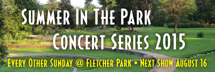 2015 Summer in the Park Concert Series