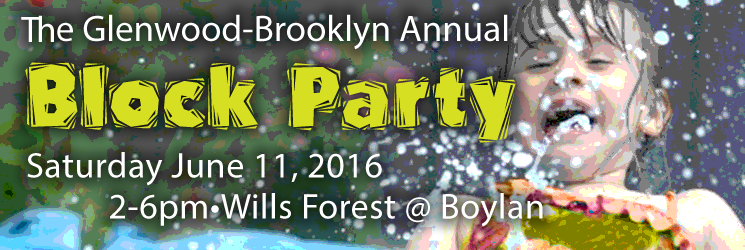 Glenwood-Brooklyn Block Party June 11, 2016