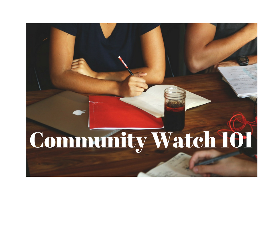Community Watch 101